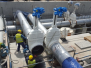Šoupátko DN 800 pro ropný terminál v Gdaňsku, Polsko